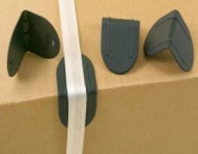 Kantenschutzecken ohne Dorn bis 19mm Bandbreite