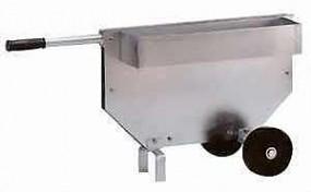 Abrollwagen für Stahlband in Scheibenwicklung 25-32mm